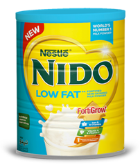 Nido® LOW FAT Fortified Semi-Skimmed Milk Powder