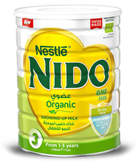 Nido One Plus Organic Milk for 1 to 3 years old