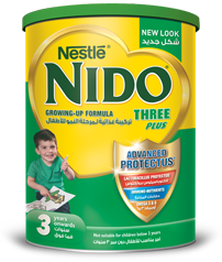 Nido® Three Plus Milk Power 3 to 5 years old