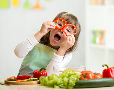 The right nutrition for your child's brain development