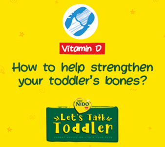How to help sreangthen your toddler's bones