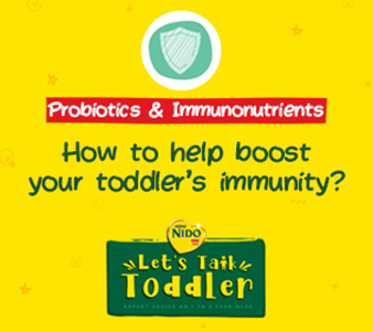 How to help boost you toddler's immunity