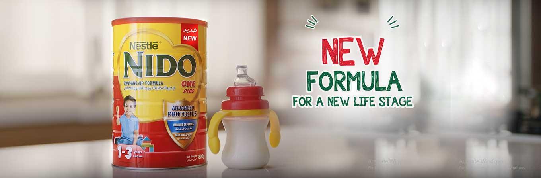 Nido Fortified Milk Powder with FortiGrow™ | Nestlé NIDO®