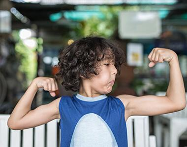 PROTEIN POWER: THE RIGHT FUEL FOR GROWING KIDS