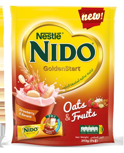 Strawberry Banana | Nestlé NIDO®