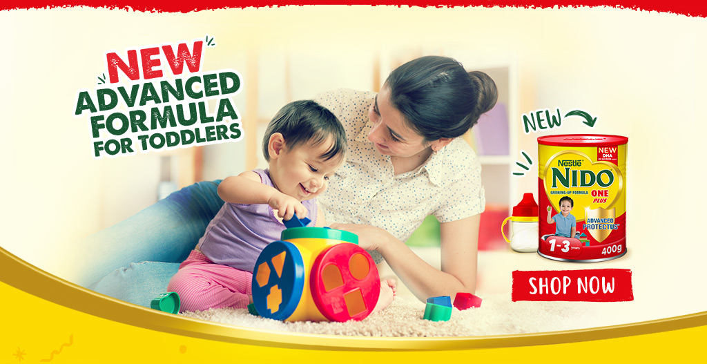 Nido One Plus Advanced Formula for Toddlers